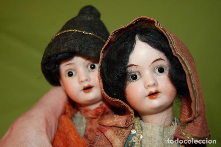 Muñecas Porcelana: pareja de armand marseille 23cm - Foto 2 - 235568880