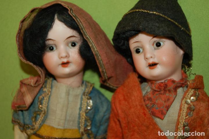 Muñecas Porcelana: pareja de armand marseille 23cm - Foto 3 - 235568880