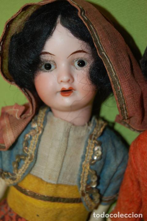 Muñecas Porcelana: pareja de armand marseille 23cm - Foto 4 - 235568880