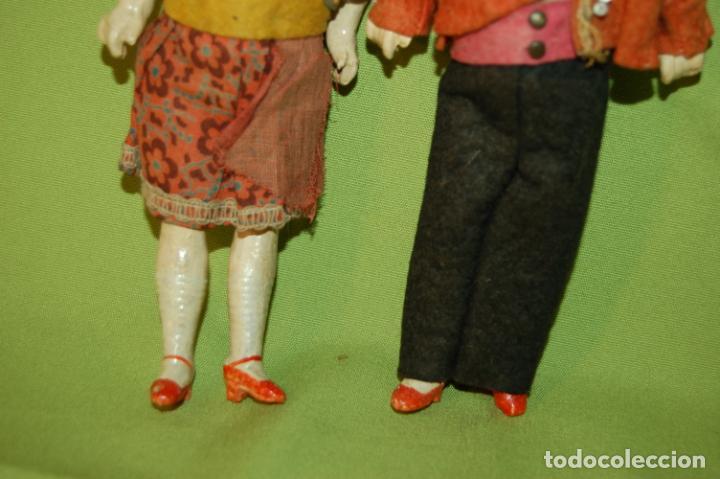 Muñecas Porcelana: pareja de armand marseille 23cm - Foto 5 - 235568880
