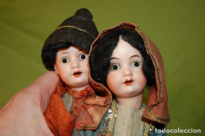 Muñecas Porcelana: pareja de armand marseille 23cm - Foto 6 - 235568880