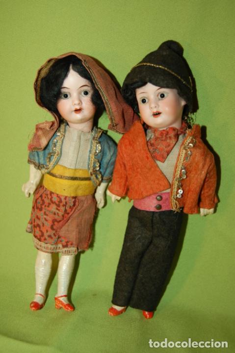Muñecas Porcelana: pareja de armand marseille 23cm - Foto 10 - 235568880