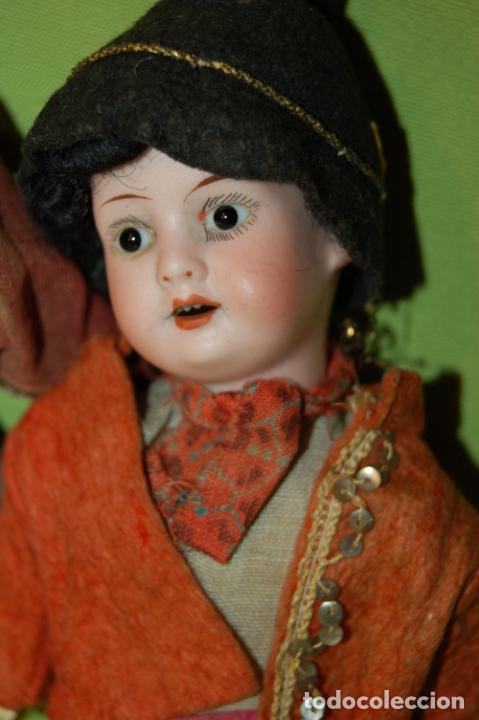 Muñecas Porcelana: pareja de armand marseille 23cm - Foto 12 - 235568880