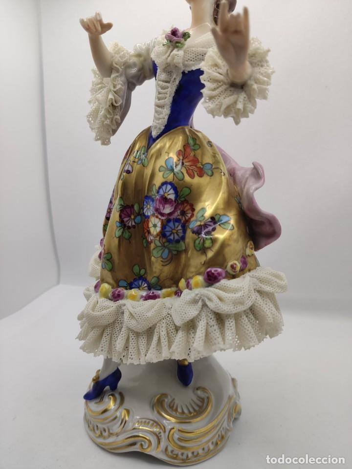 Muñecas Porcelana: Porcelana alemana dresden volkstedt factory porcelain ( meissen capodimonte ) - Foto 3 - 237337640