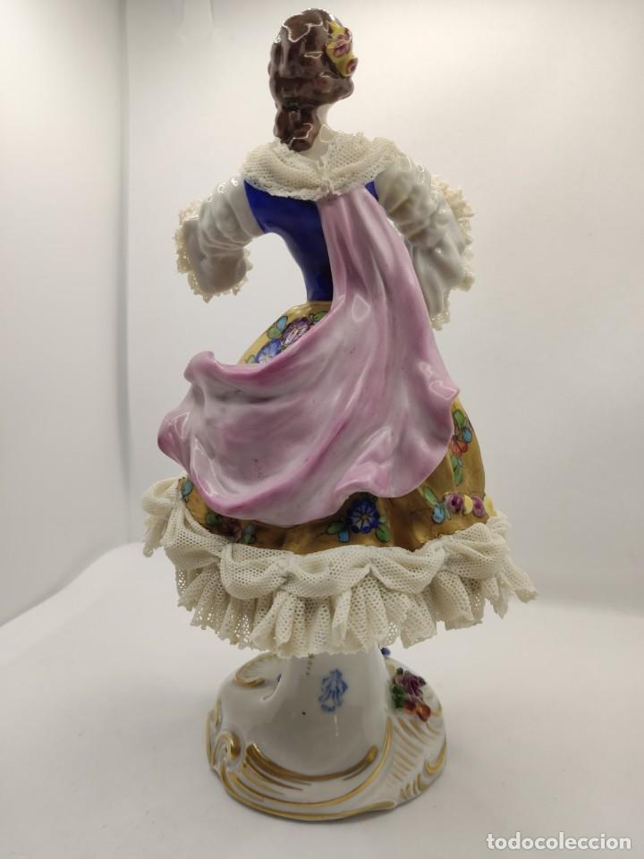 Muñecas Porcelana: Porcelana alemana dresden volkstedt factory porcelain ( meissen capodimonte ) - Foto 4 - 237337640