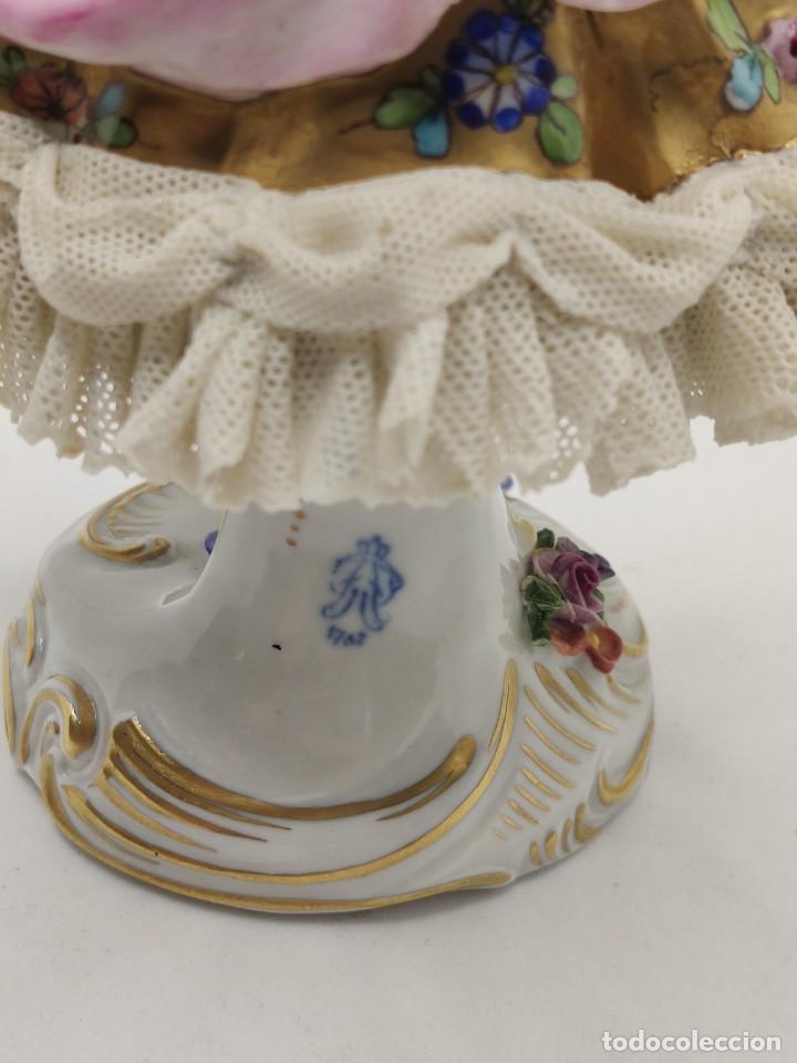 Muñecas Porcelana: Porcelana alemana dresden volkstedt factory porcelain ( meissen capodimonte ) - Foto 5 - 237337640