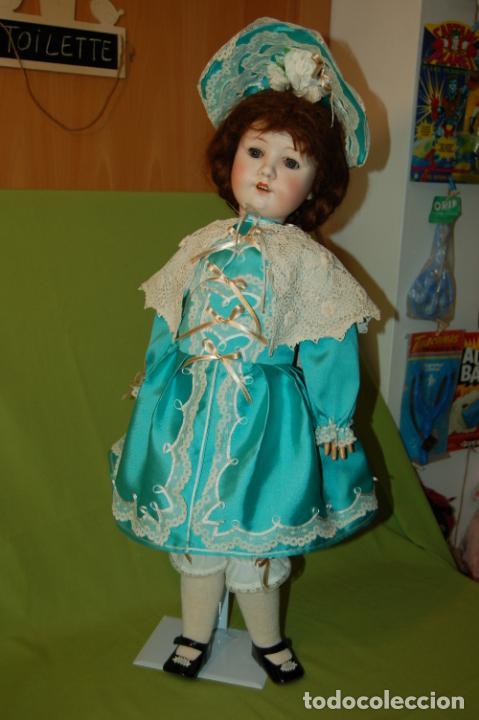 Muñecas Porcelana: muñeca MOA molde 200 - Foto 32 - 167832644