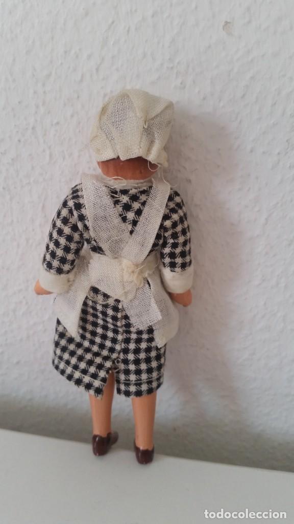 Muñecas Porcelana: ANTIGUA MONEQUINA DE COLECION PORCELANA GERMANY ROPAS ORIGINALES ANOS 20,30 - Foto 3 - 244524010