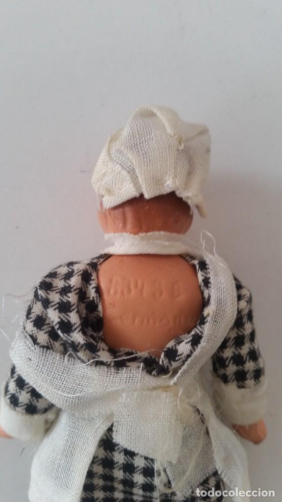Muñecas Porcelana: ANTIGUA MONEQUINA DE COLECION PORCELANA GERMANY ROPAS ORIGINALES ANOS 20,30 - Foto 5 - 244524010