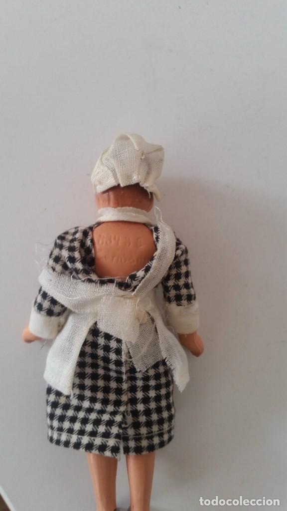 Muñecas Porcelana: ANTIGUA MONEQUINA DE COLECION PORCELANA GERMANY ROPAS ORIGINALES ANOS 20,30 - Foto 6 - 244524010