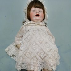 Muñecas Porcelana: ANTIGUA MUÑECA BEBÉ PORCELANA 1800 F.S & CO. FRANZ SCHMIDT. GERMANY. Lote 245614780