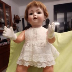 Muñecas Porcelana: MUÑECA ALEMANA DE BISCUIT SIMON HALBIG. Lote 246310800