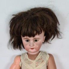 Muñecas Porcelana: MUÑECA ANDADORA. CABEZA DE PORCELANA. CUERPO DE COMPOSICION. ALEMANIA. SIGLO XX.. Lote 248486030