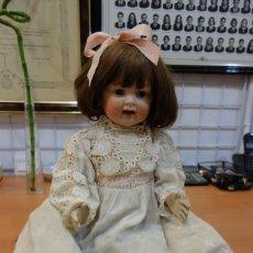 Muñecas Porcelana: INTERESANTE MUÑECA DE PORCELANA ORIGINAL DEL SIGLO XIX. Lote 250258930