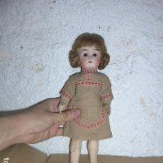 Muñecas Porcelana: ANTIGUA MUÑECA DE PORCELANA CON MARCA EN NUCA A IDENTIFICAR, ORIGINAL.. Lote 251434595