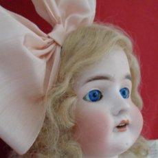 Muñecas Porcelana: ANTIGUA MUÑECA QUEEN LOUISE, DE A M, SIN DAÑOS, 64 CM TODA ORIGINAL. Lote 223819106