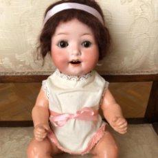 Muñecas Porcelana: MUÑECO/BEBE ANTIGUO HEUBACH, 36 CMS. Lote 255010210