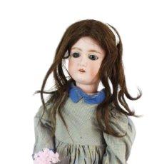 Muñecas Porcelana: MUÑECA COMPOSICIÓN ANDADORA. SCHOENAU & HOFFMEISTER 1909 REF. 4 - COMPOSITION DOLL. Lote 229375090