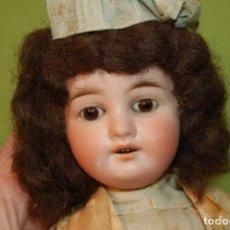 Muñecas Porcelana: MUÑECA ALEMANA BISCUIT. Lote 261170315