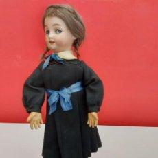 Muñecas Porcelana: MUÑECA ANTIGUAFIRMADA EN LA NUCA DEP 1039 GERMANY,SIMON&HALBIG ALREDEDOR DE 1900. Lote 262318340