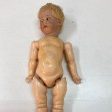 Bambole Porcellana: MUÑECO DE PORCELANA SIMON & HALBIG 115/9 N31 MECANISMO APERTURA OJOS ALEMANIA PP S.XX 34 CM. Lote 266707093