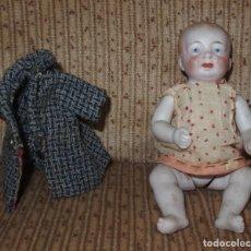 Muñecas Porcelana: BEBÉ DE BISCUIT,ARTICULADO,CON ROPITA,GERMANY,AÑOS 20 Ó 30. Lote 269030904