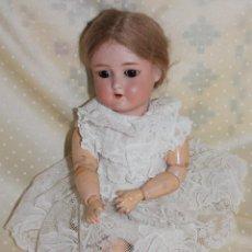 Bonecas Porcelana: MUÑECA ANTIGUA DE PORCELANA, 29CM APROX. PELUCA DE MOHAIR. Lote 270886103