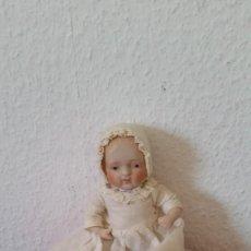 Muñecas Porcelana: BEBE DE COLECION BRASOS Y PIERNASARTICULADOS EN PORCELANA SELADO NIPPON ANOS 30,40. Lote 271913558