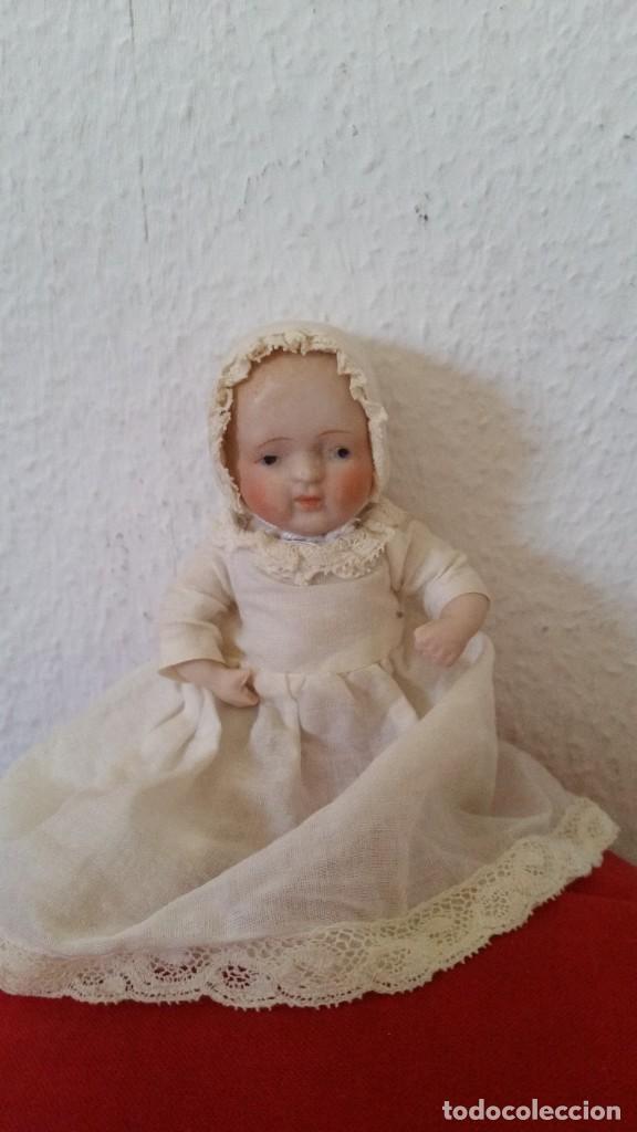 Muñecas Porcelana: BEBE DE COLECION BRASOS Y PIERNASARTICULADOS EN PORCELANA SELADO NIPPON ANOS 30,40 - Foto 2 - 271913558