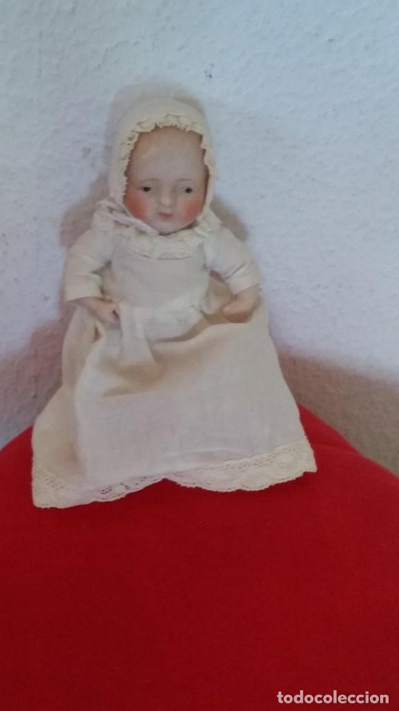 Muñecas Porcelana: BEBE DE COLECION BRASOS Y PIERNASARTICULADOS EN PORCELANA SELADO NIPPON ANOS 30,40 - Foto 9 - 271913558