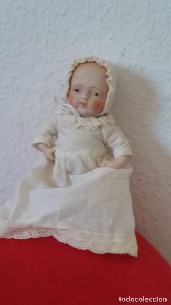 Muñecas Porcelana: BEBE DE COLECION BRASOS Y PIERNASARTICULADOS EN PORCELANA SELADO NIPPON ANOS 30,40 - Foto 10 - 271913558