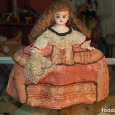 Bonecas Porcelana: MUÑECA BOMBONERA MENINA. Lote 272067783