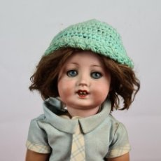 Muñecas Porcelana: MUÑECA. CUERPO DE COMPOSICION. CABEZA DE PORCELANA. ALEMANIA. SIGLO XX.. Lote 273918618
