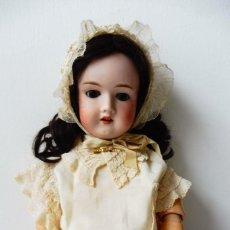 Muñecas Porcelana: ANTIGUA MUÑECA OTTO JAGER - FRIEDRIEHRODA - CABEZA DE PORCELANA ALEMANA PPIO.S.XX. Lote 277422263