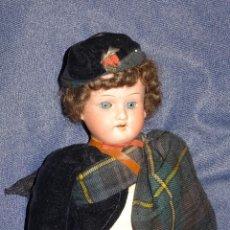 Muñecas Porcelana: (M) MUÑECA ARMAND MARSELLIE GERMANY 390, MUÑECA VESTIDA ORIGINAL, SIN ROTURAS. Lote 277433528