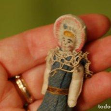 Muñecas Porcelana: MUÑECA FROZEN DE PORCELANA ANTIGUA. Lote 289790413