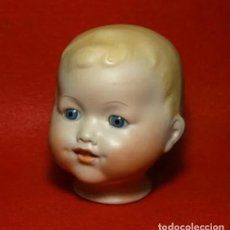 Muñecas Porcelana: CABEZA DE MUÑECO ARMAND MARSEILLE, OJOS CRISTAL.MARCAS. Lote 290386118