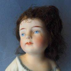 Muñecas Porcelana: ANTIGUO MUÑECO BEBÉ PIANO DE PORCELANA BISCUIT - ALEMANIA PPIO.S.XX. Lote 293866503