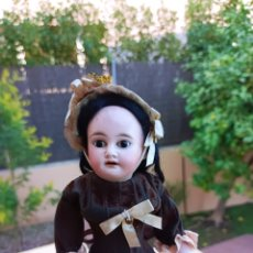 Muñecas Porcelana: MUÑECA ARMAND MARSEILLE TODA DE ORIGEN 31 CM. Lote 296790393