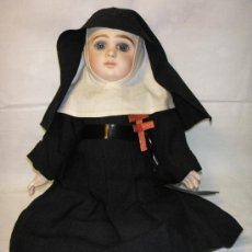 Muñecas Porcelana: ANTIGUA MUÑECA JUMEAU BOCA CERRADA CON HÁBITO. Lote 27122091