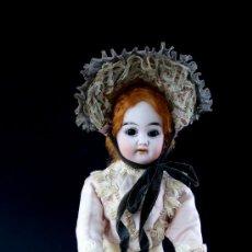 Muñecas Porcelana: MUÑECA DE BISCUIT - CAJA DE MÚSICA - FABRICANTE - DE FUISSEAUX - TODO ORIGINAL - AÑOS 1900 - RARA. Lote 27109600