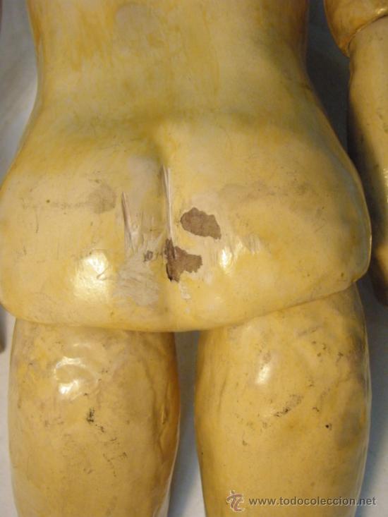 Muñecas Porcelana: ANTIGUA MUÑECA JUMEAU CON CUERPO STEINER. BOCA CERRADA. 45 CM - Foto 10 - 30970373