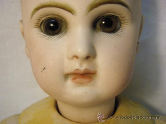 Muñecas Porcelana: ANTIGUA MUÑECA JUMEAU CON CUERPO STEINER. BOCA CERRADA. 45 CM - Foto 2 - 30970373