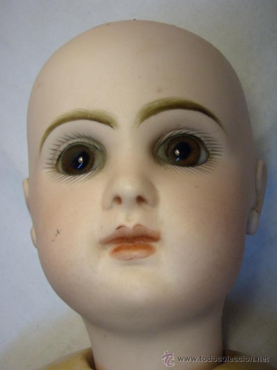 Muñecas Porcelana: ANTIGUA MUÑECA JUMEAU CON CUERPO STEINER. BOCA CERRADA. 45 CM - Foto 13 - 30970373