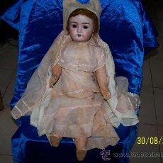 Muñecas Porcelana: MUÑECA D E P 1909 R 7 A MEDIDA 50 CM ANTIGUA. Lote 33014900