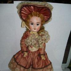 Muñecas Porcelana: MUÑECA ANTIGUA FRANCESA ANCORA L A 10/0. Lote 37317577