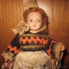 Muñecas Porcelana: MUÑECA MIGNONETTE,UNIS FRANCE,PARIS,301,AÑOS 20. Lote 39138656