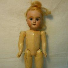 Muñecas Porcelana: MUÑECA PORCELANA Y CUERPO DE COMPOSICION CON MARCA DEL ANCLA. Lote 41472191