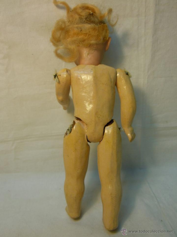 Muñecas Porcelana: MUÑECA PORCELANA Y CUERPO DE COMPOSICION CON MARCA DEL ANCLA - Foto 3 - 41472191