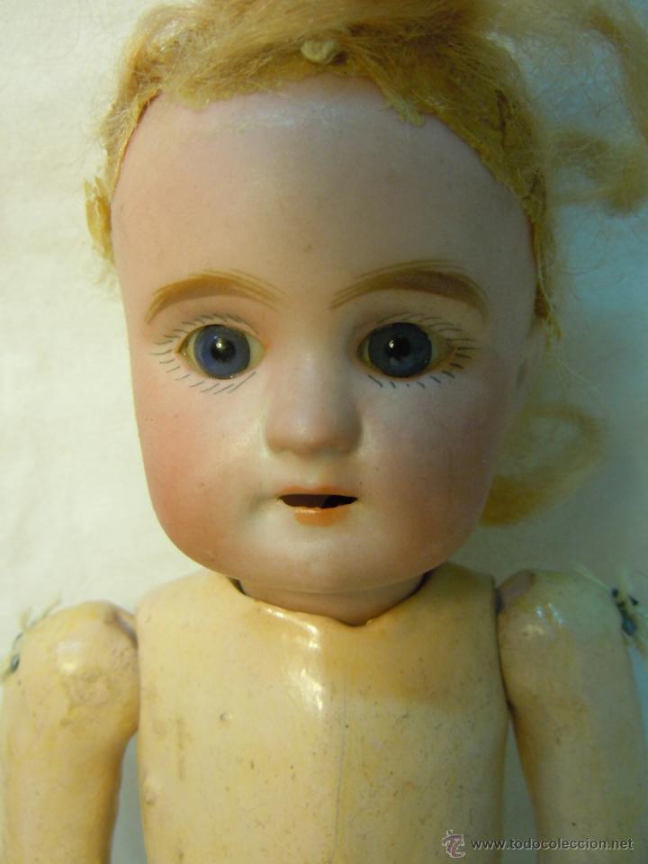 Muñecas Porcelana: MUÑECA PORCELANA Y CUERPO DE COMPOSICION CON MARCA DEL ANCLA - Foto 6 - 41472191